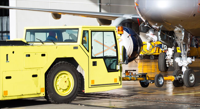 Airplane Ground Support Equipment
