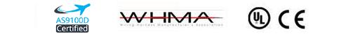 Certified | WHMA | UL | CE